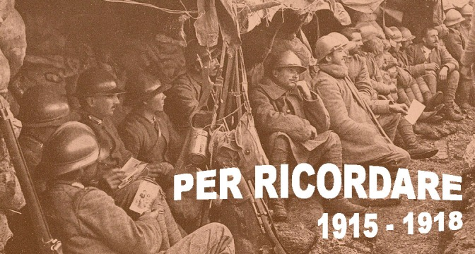 """Progetto """"Per ricordare 1915-1918"""""""
