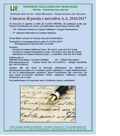 MONCALIERI - Concorso di poesia e narrativa A A  2016_2017 (locandina).png