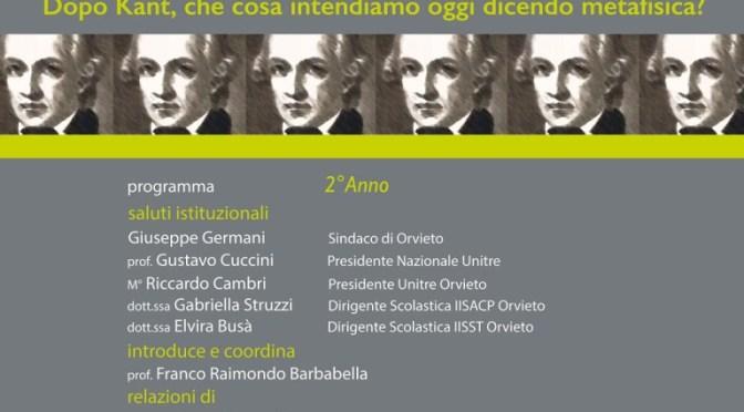 Orvieto: grande successo per la seconda edizione della Decade Kantiana
