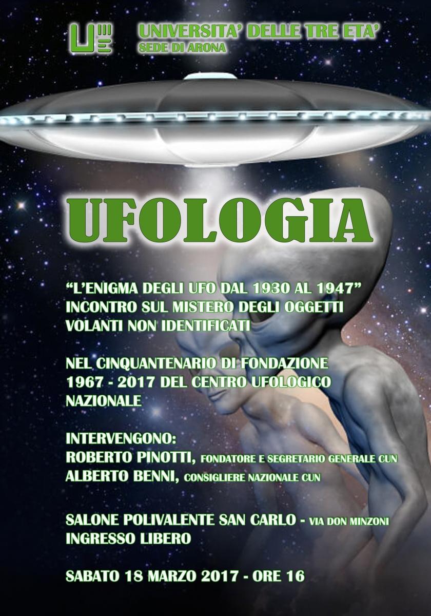 Convegno di Ufologia all'Unitre di Arona