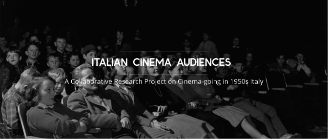 ICAMAP: Italian Cinema Audiences Map – Archivio online sul consumo cinematografico dell'Italia negli anni '50