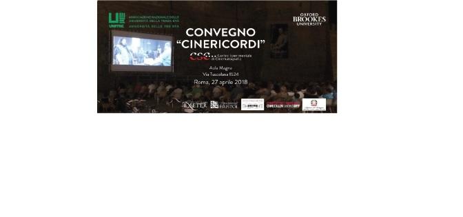 """Convegno """"CINERICORDI"""" – Roma, 27 aprile 2018"""
