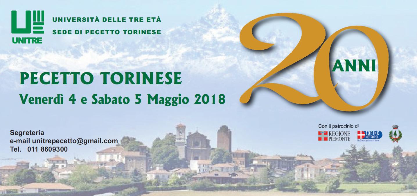 Comune Di Pecetto Torinese ventennale dell'unitre di pecetto torinese | accademia d'umanità