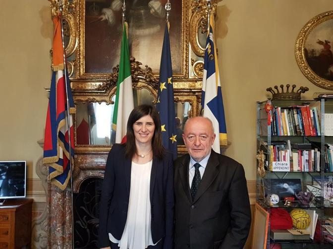 Incontro tra l'Associazione Nazionale Unitre e la sindaca di Torino