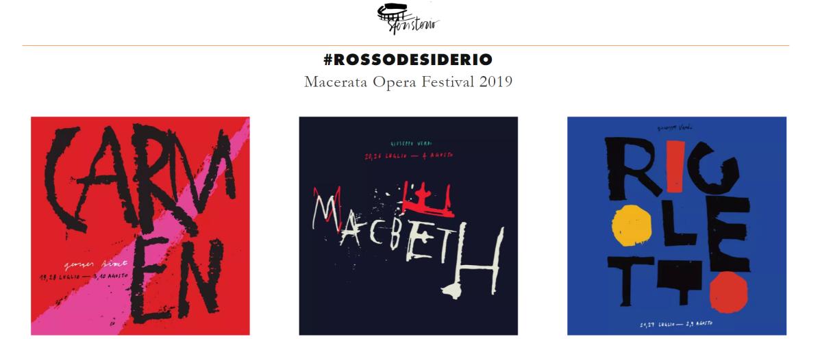 Sferisterio di Macerata - Opera Festival 2019 - Convenzione per gli Associati UNITRE