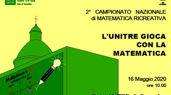 A Ferrandina L'UNITRE GIOCA CON LA MATEMATICA e invita a dare una mano al Pianeta